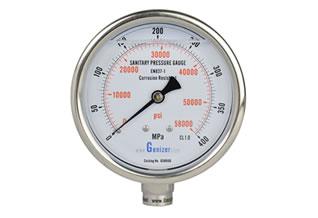 超高压均质机用卫生级压力表